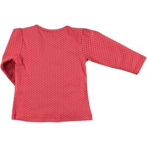 Kujju Kız Bebek Penye Sweatshirt 6-18 Ay Narçiçeği