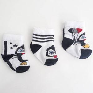 Penguen 3 lü Çorap Set