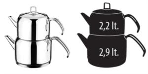 Evimsaray S-1314 Aile Boy Ece Çaydanlık