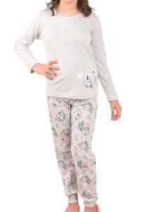 Nicoletta Kız Çocuk Pijama Takımı Uzun Kol
