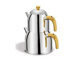 Taç Evita Çaydanlık Gold
