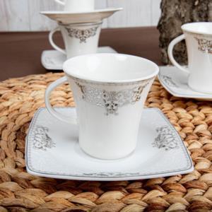 Güral Porselen 12 Parça Caroline Türk Kahvesi Takımı 56861