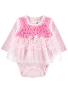 Civil Baby Kız Bebek Elbise 0-9 Ay Pembe