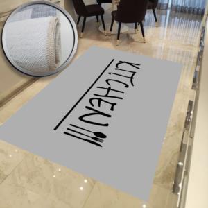 Milano Halı Kaymaz Tabanlı Yıkanabilir Mutfak Halısı DOT-HT-621