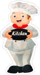 Markaev Kitchen Saçaksız Kaymaz Tabanlı Mutfak Halısı 102