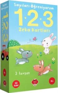 Sayıları Öğreniyorum 1 - 2 - 3 Zeka Kartları-Kolektif