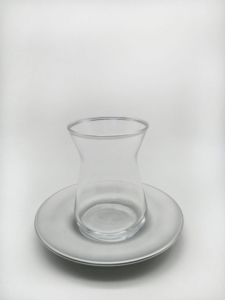 Özcam Kristal 12 Parça Silver Çay Takımı - D-1234