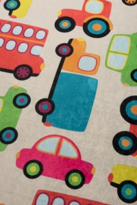 Chilai Home Cars Ekru Çocuk Halısı