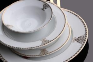 Sevenly 85 Parça Gold Porselen Yemek Takımı 16004