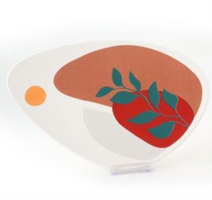 Keramika Olivia Kahvaltı Takımı 17 Parça 2 Kişilik