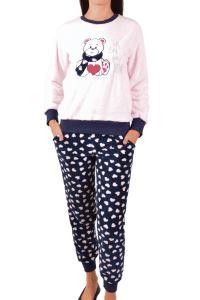 Nicoletta Kadın Pijama Takimi Welsoft Cepli