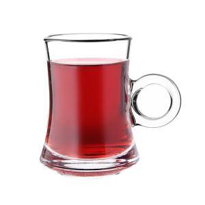 Perotti 11884 Gian 6lı Cam Çay Fincanı