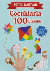Eğitici Kartlar - Çocuklarla 100 Etkinlik-Kolektif
