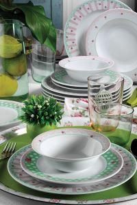 Kütahya Porselen 24 Parça 9380 Desen Yemek Seti