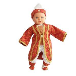 Osmanlı Şehzade Bebek Mevlüt Takımı Kırmızı