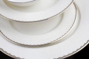 Sevenly Mega 85 Parça Gold Porselen Yemek Takımı -16007