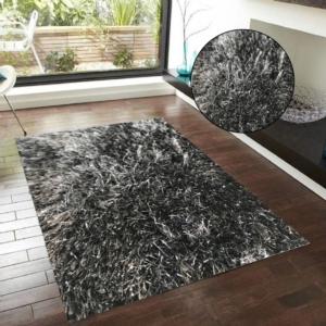 Merinos Halı Glossy Serisi 411 Lurex 900 Anthracite