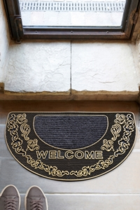 Chilai Mezzo Kahve 45X70 Cm Kapı Önü Paspası Kauçuk Paspas