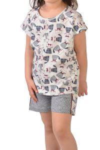 Nicoletta Kız Çocuk Şortlu Pijama Takımı