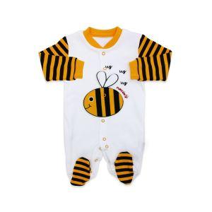 Yeni Model Arı Bereli Bebek Tulumu