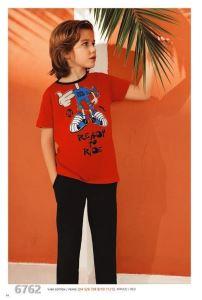 Güryıldız 6762 Kısa Kollu Erkek Çocuk Pijama Takımı