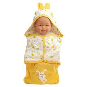 Tavşanlı Sarı Bebek Kundak Battaniye