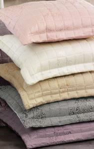 Cottonlife Comfy Çift Kişilik Yatak Örtüsü Gri