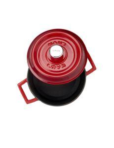 Lava Döküm Yuvarlak Tencere Trendy Çap (Ø) 28cm -Kırmızı