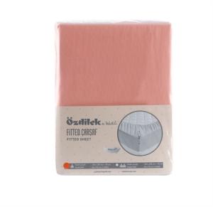 Özdilek Colormix Tek Kişilik Fitted Çarşaf Mercan