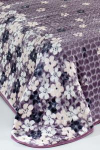 Evlen Home Flower Çift Kişilik Battaniye 220X240 cm  (B07)