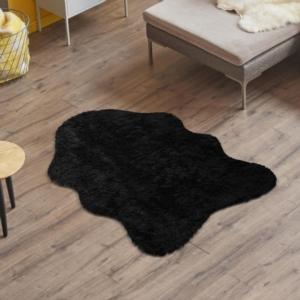 Kozzy Home Dekoratif Post Halı Siyah RFE6133