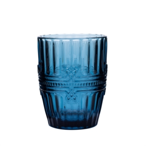 Karaca Twist Cam Su Bardağı Mavi
