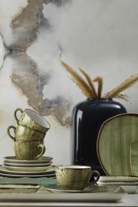 Kütahya Porselen Corendon 30 Parça Kahvaltı Takımı Yeşil