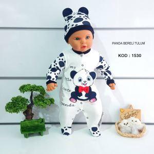 Panda Bereli Bebek Tulumu