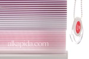 Brillant Zebra Plise Line Perde MDJ11467.803