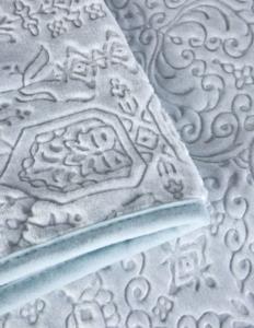 Karaca Home Rauqel Tiffany Çift Kişilik Embosy Battaniye