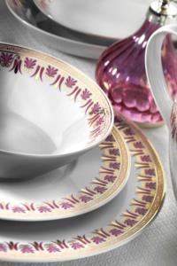 Kütahya Porselen 83 Parça 9323 Desenli Yemek Takımı TR 652