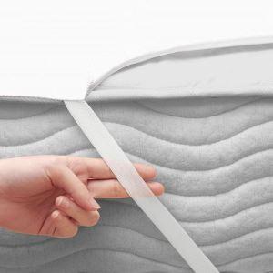 Çapa Home 70*140 Bebekler için Sıvı Geçirmez Alez Beyaz
