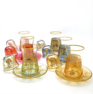 Özcam Kristal 18 Parça 6 Kişilik Çay Takımı- D-1746
