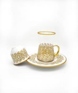 Özcam Kristal 18 Parça 6 Kişilik Çay Takımı- D-1736