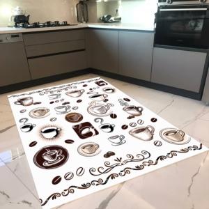 Milano Halı Kaymaz Tabanlı Mutfak Halısı Yıkanabilir Dot Taban HM-582