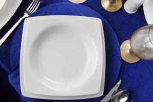 Güral Porselen 61 Parça Caroline Kare Bone Yemek Takımı 54981