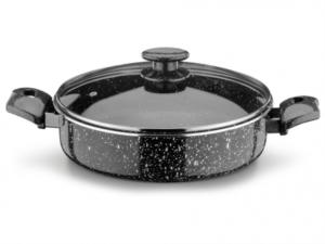 Ulutaş  Granit Basık Tencere 2.6 mm 28 cm
