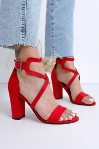 Moda Eleysa Ansley Topuklu Cilt Ayakkabı ELYSMODA0171