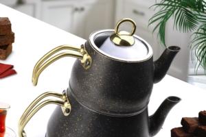 Fms Granit Gold Seri Orta Boy Çaydanlık- 9016