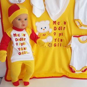 GS Taraftar 10 Parça Battaniyeli Bebek Seti