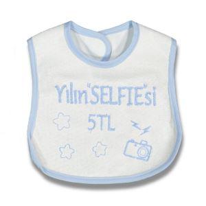 Yılın Selfiesi 5 TL Yazılı Mavi Önlük