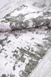 Sena Home Dijital Baskılı Dod Tabanlı Halı 7003 Yeşil
