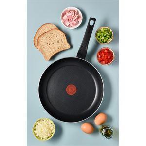 Tefal Titanyum 1X Extra Cook and Clean Difüzyon Tabanlı Tava - 24 cm