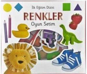 İlk Eğitim Dizisi - Renkler Oyun Setim-Kolektif